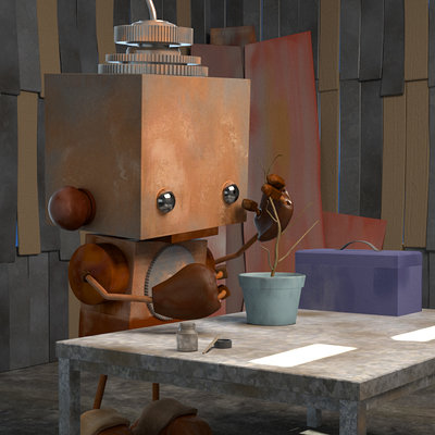 Samuel wilton littlerobot 00000