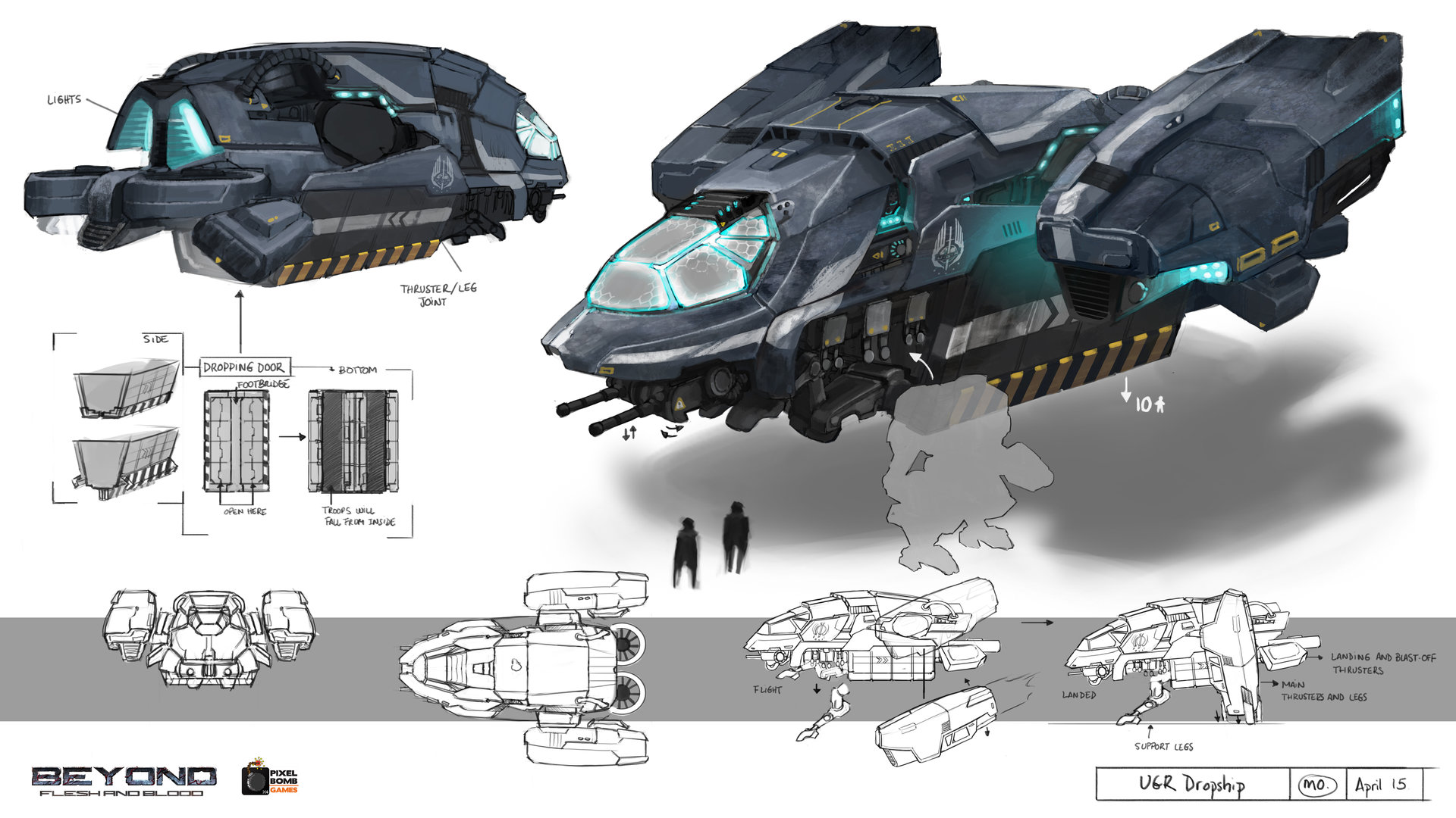 UGR vehicles and mechs