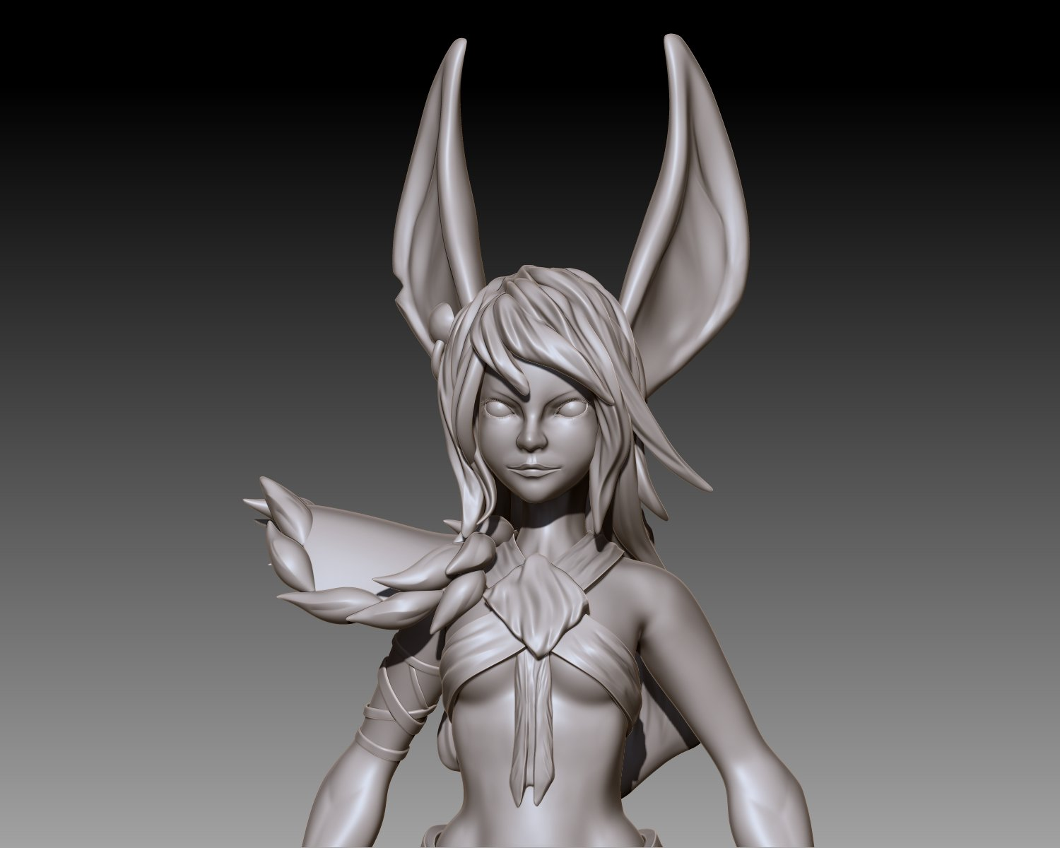 the Jackal - Sculpt
