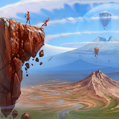 Sviatoslav gerasimchuk valley of flying islands