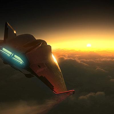 Nathan dearsley avenger sunset