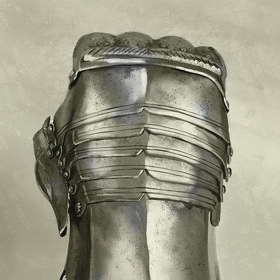 Coby ricketts armor hand 1