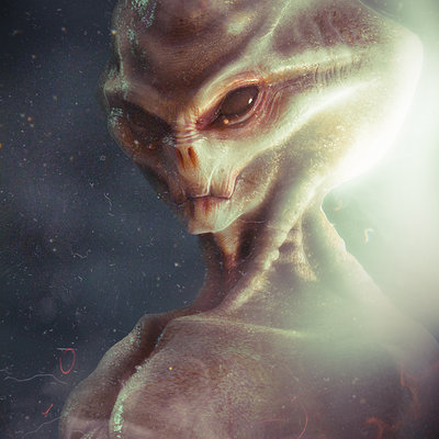 Alexandr novitskiy alien the grey