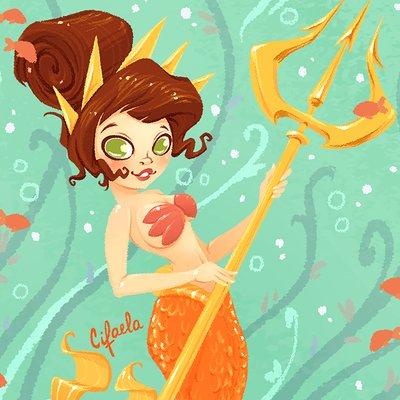 Fabiola monteiro pequena sereia attina