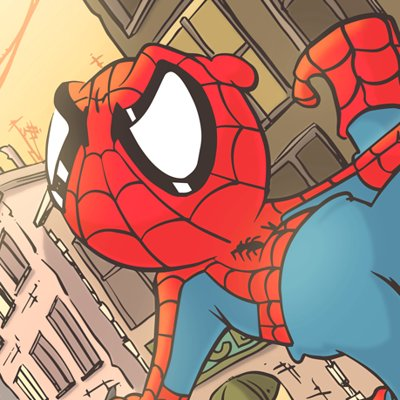 Kendall stump spidey color