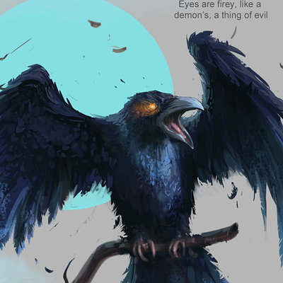Zachary d coe ravencharacterconcept byzacharydcoe