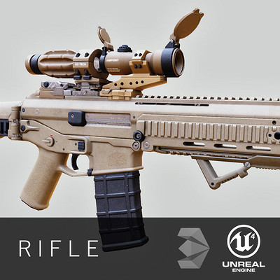 Dries deryckere rifle