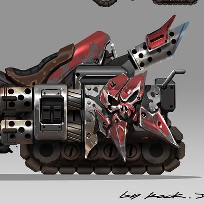 Rock d wild motor concept