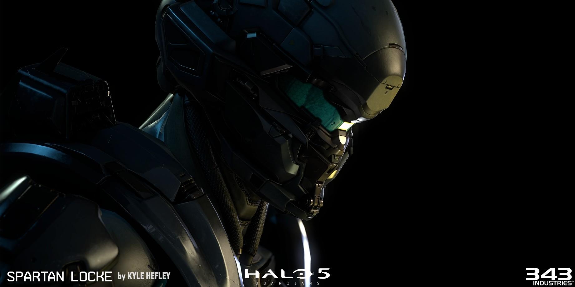 Artstation Halo 5 Locke Kyle Hefley