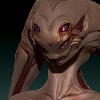 Paulo peres thumbs female alien