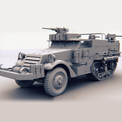 Occultart   hs 3d 2012 vehicle halftrack thumbnail b