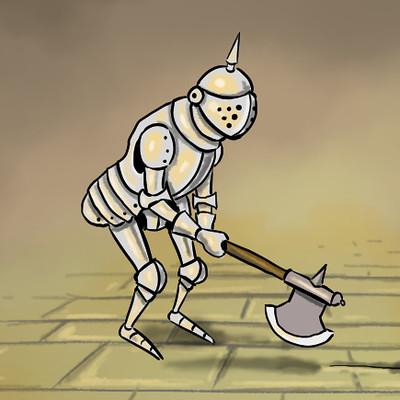 John ciarfuglia axe animation cover