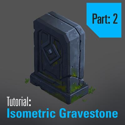 Tim kaminski tutorial isometric gravestone part 2 square