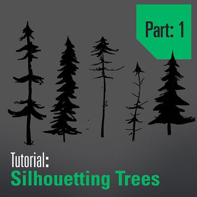 Tim kaminski tutorial drawing and designing trees part 1 artstation