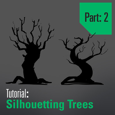 Tim kaminski tutorial drawing and designing trees part 2 artstation