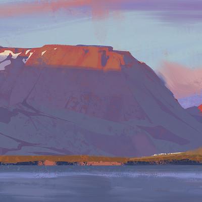 Jedd chevrier iceland study 2
