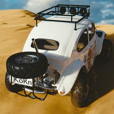 Sussi johansson baja bug with sand7
