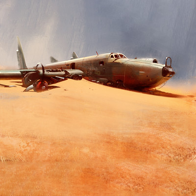 Wojtek fus desert wreck by wojtekfus daxr0ux