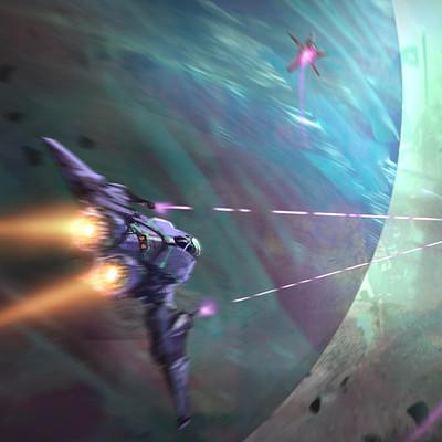 Robin tran spaceshooter3concept