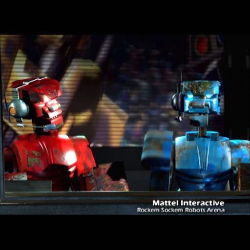 Rock'Em Sock'Em Robots Arena Cinematic