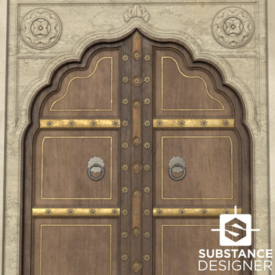 Martin de graaf substance challenge ornate door substance thumbnail martin de graaf 2017