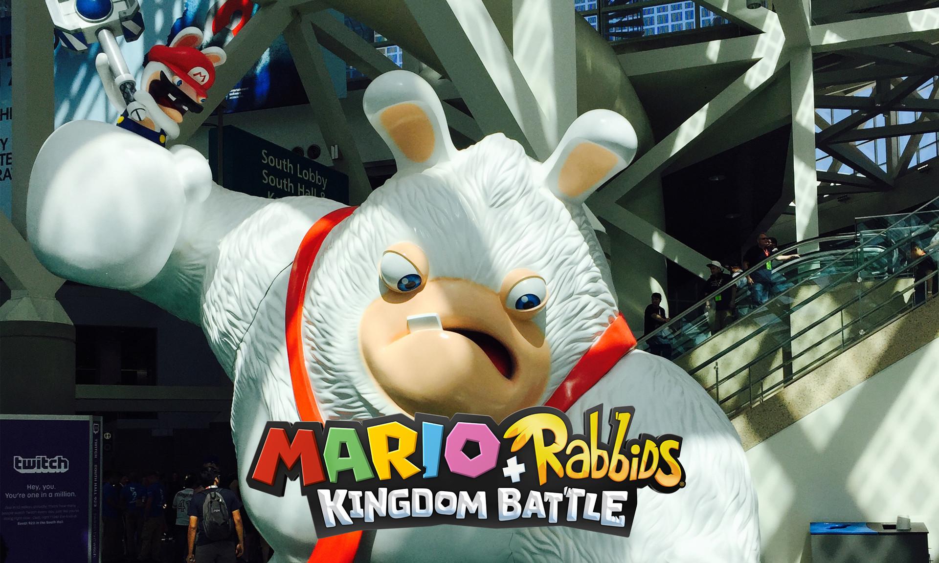 Rabbid Kong E3 Statue