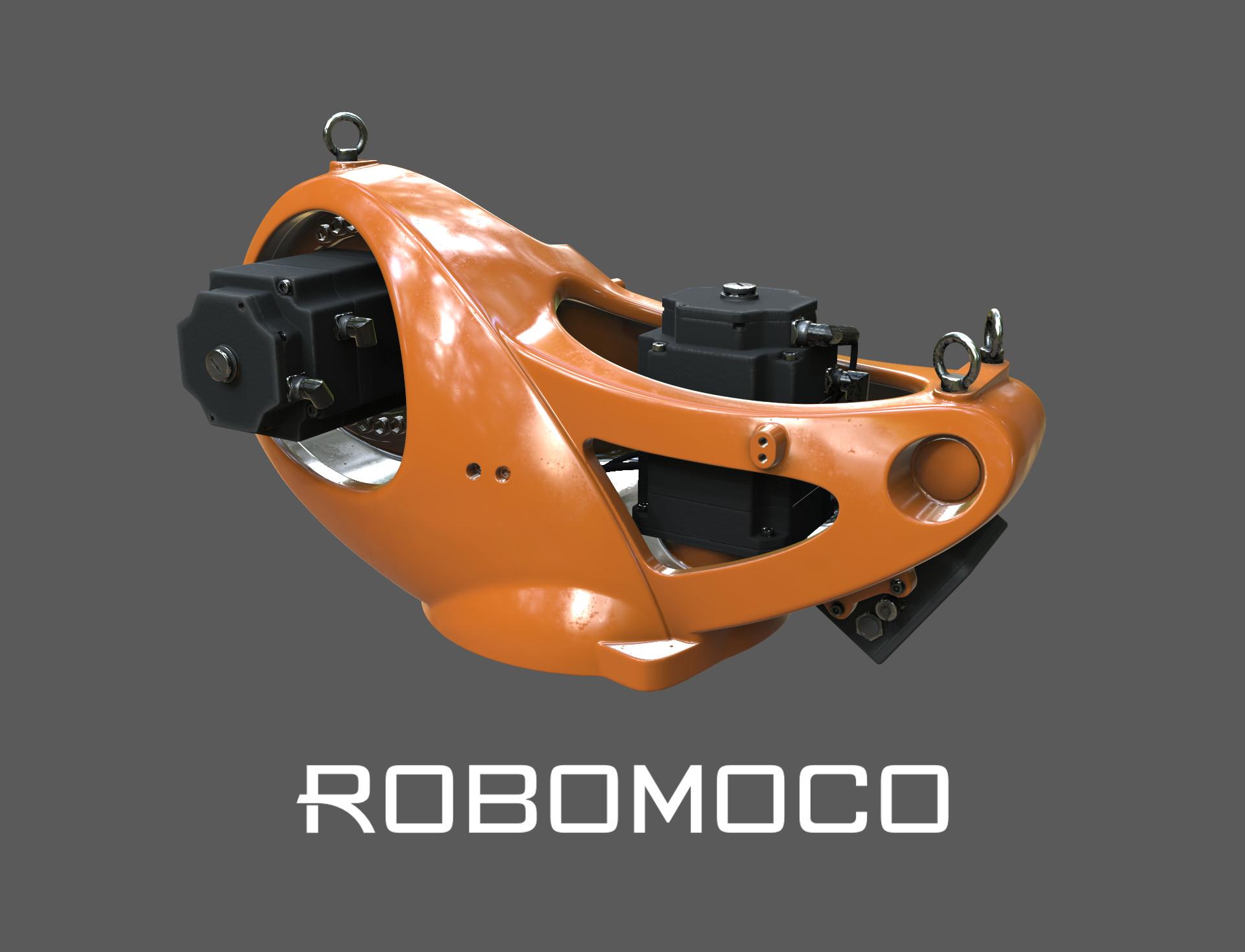 KUKA Quantec Painting for RoboMoco