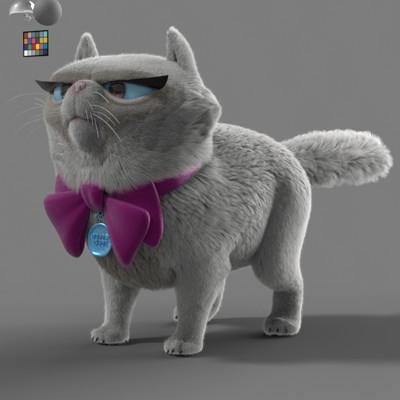 Thales simonato cat lookdev v2