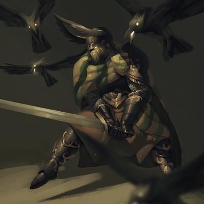 Ricardo filipe coelho paint knight 02 final