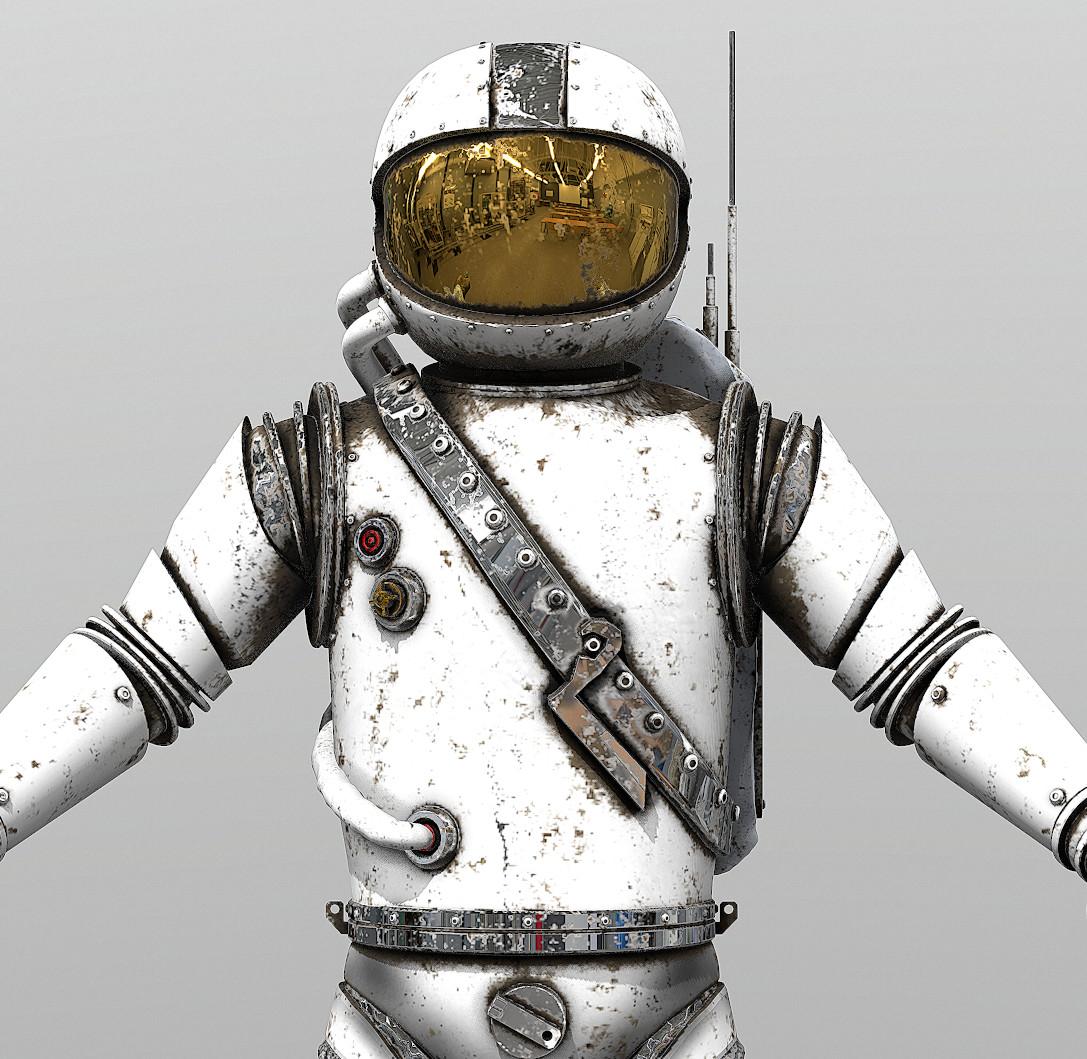 Retro Space Suit