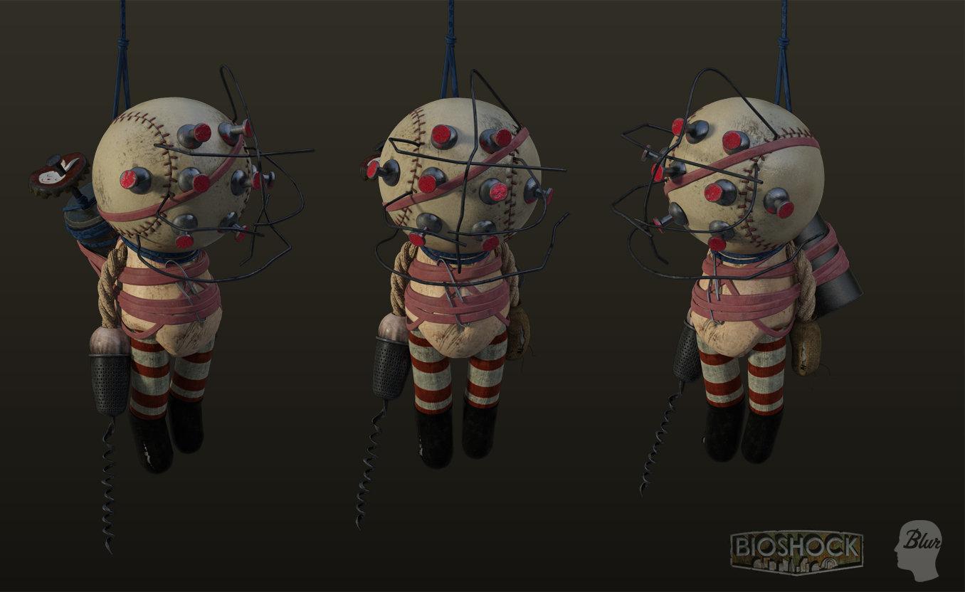 Bigdaddy doll by shaunabsher