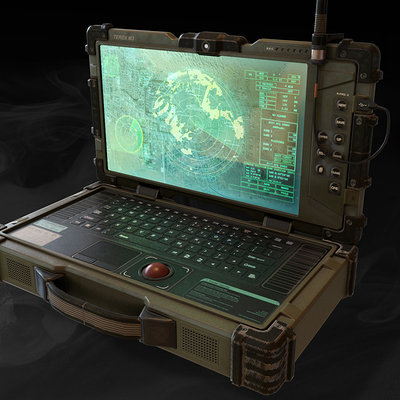 Call of duty ghosts laptop model 01