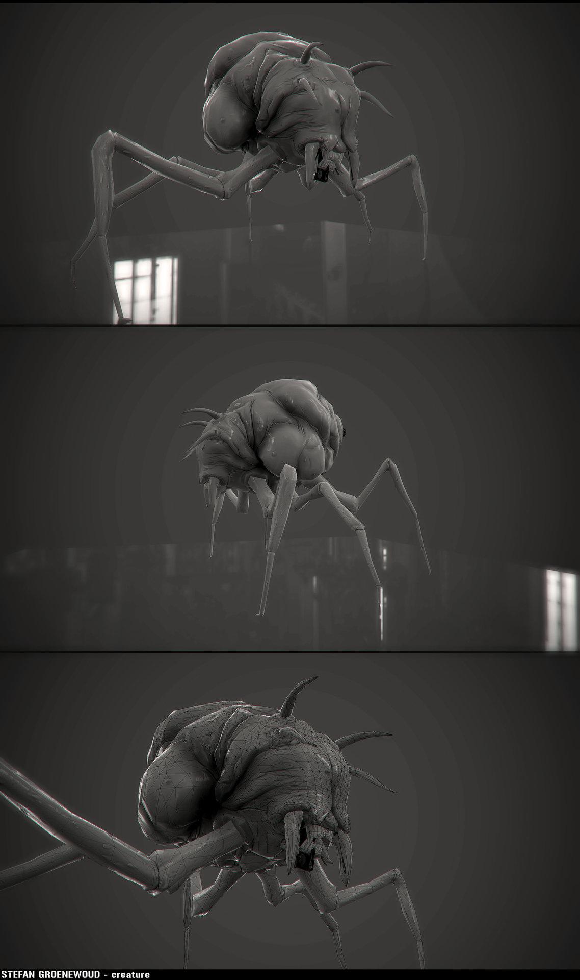 Stefangroenewoud creature lp render 01