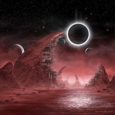 Blood planet