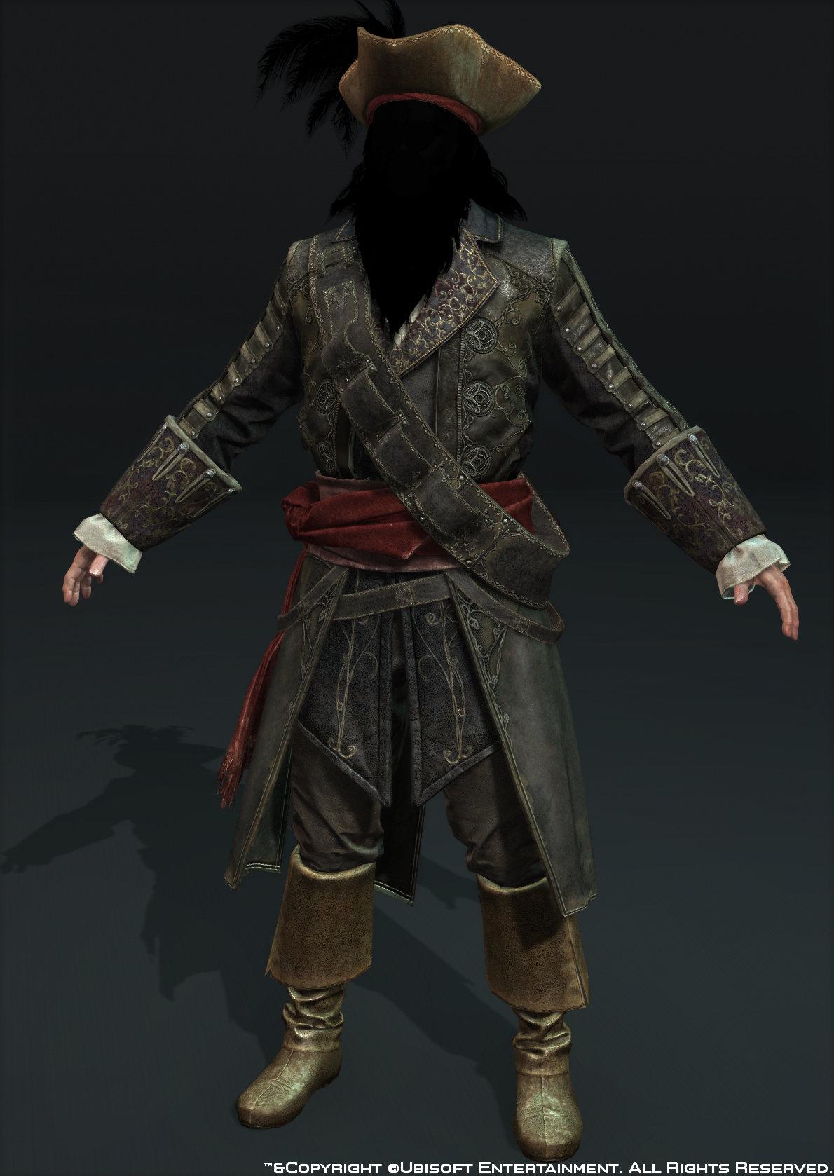 Body blackbeard front