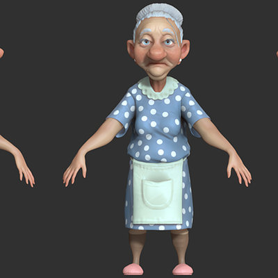 Granny  visualarium assignment 2 by pointpusher d53bq8h
