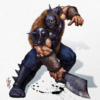 Ninjagaiden barbarian simplebg