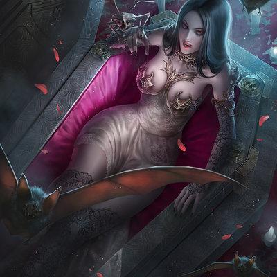 Charlene of the vampire agency 001 color5b
