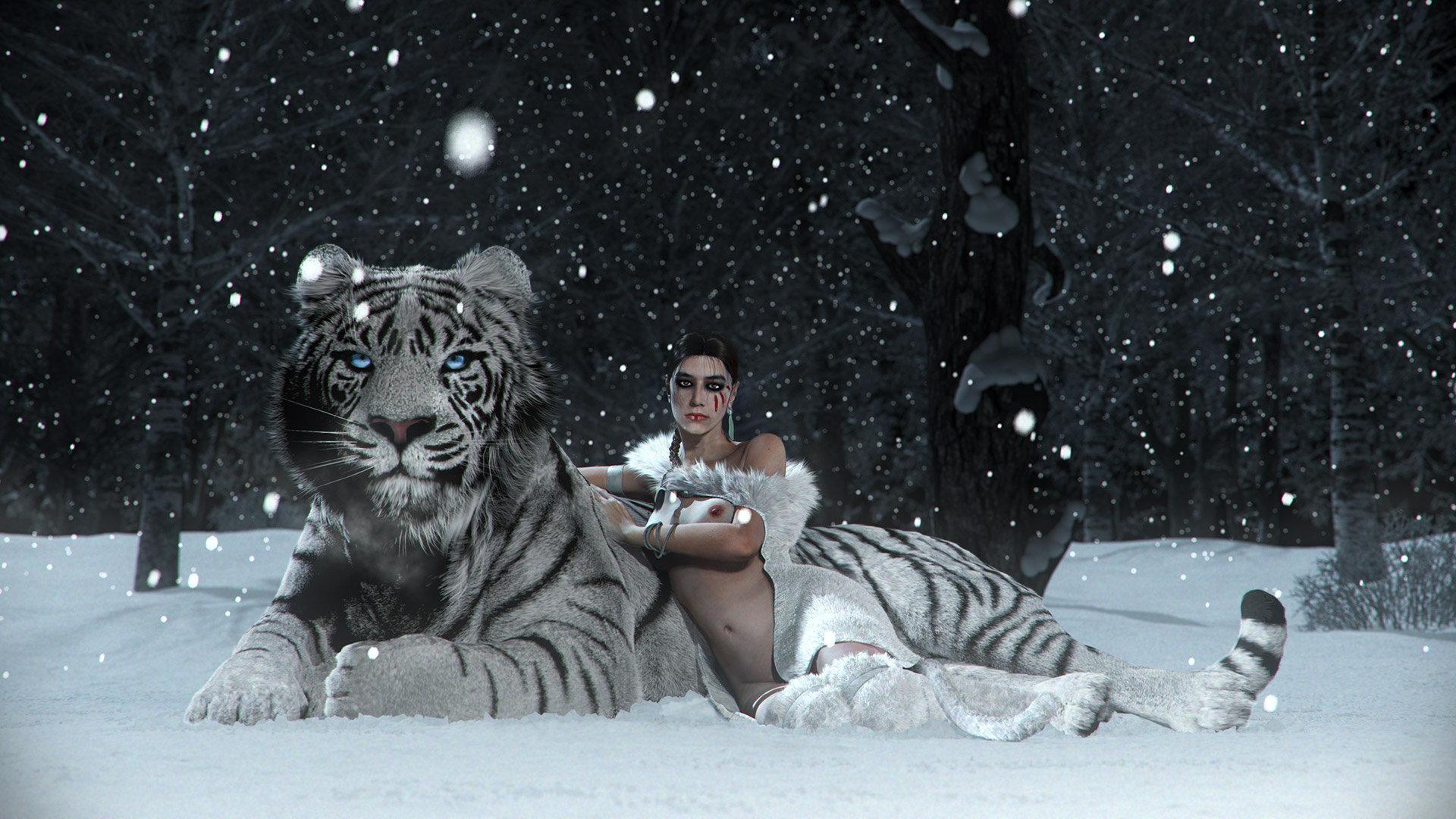 Snow vanilla hd web