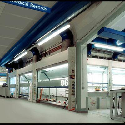 Medical lab corridor 01c
