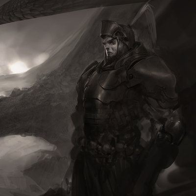 Knight sketch 02large