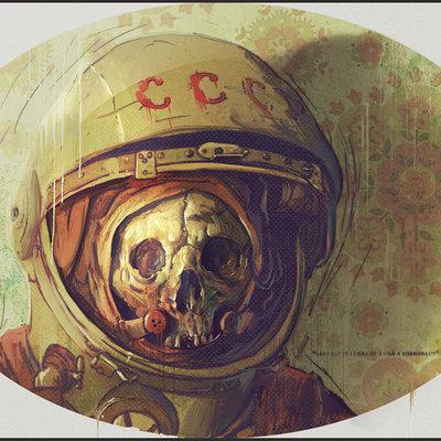 Cosmonaut by bradwright d2zl9wl