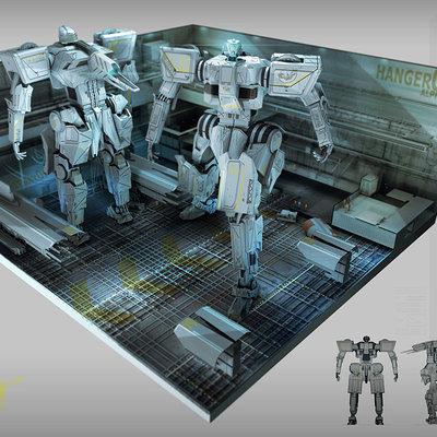 Robot hanger concept