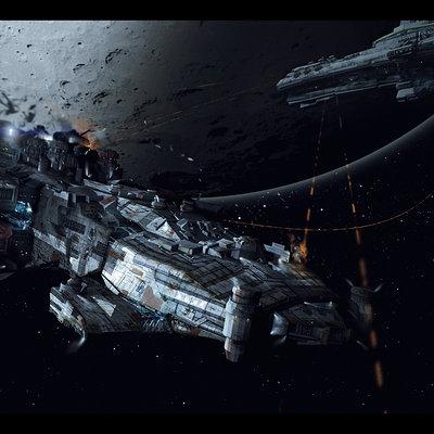 Space battle low