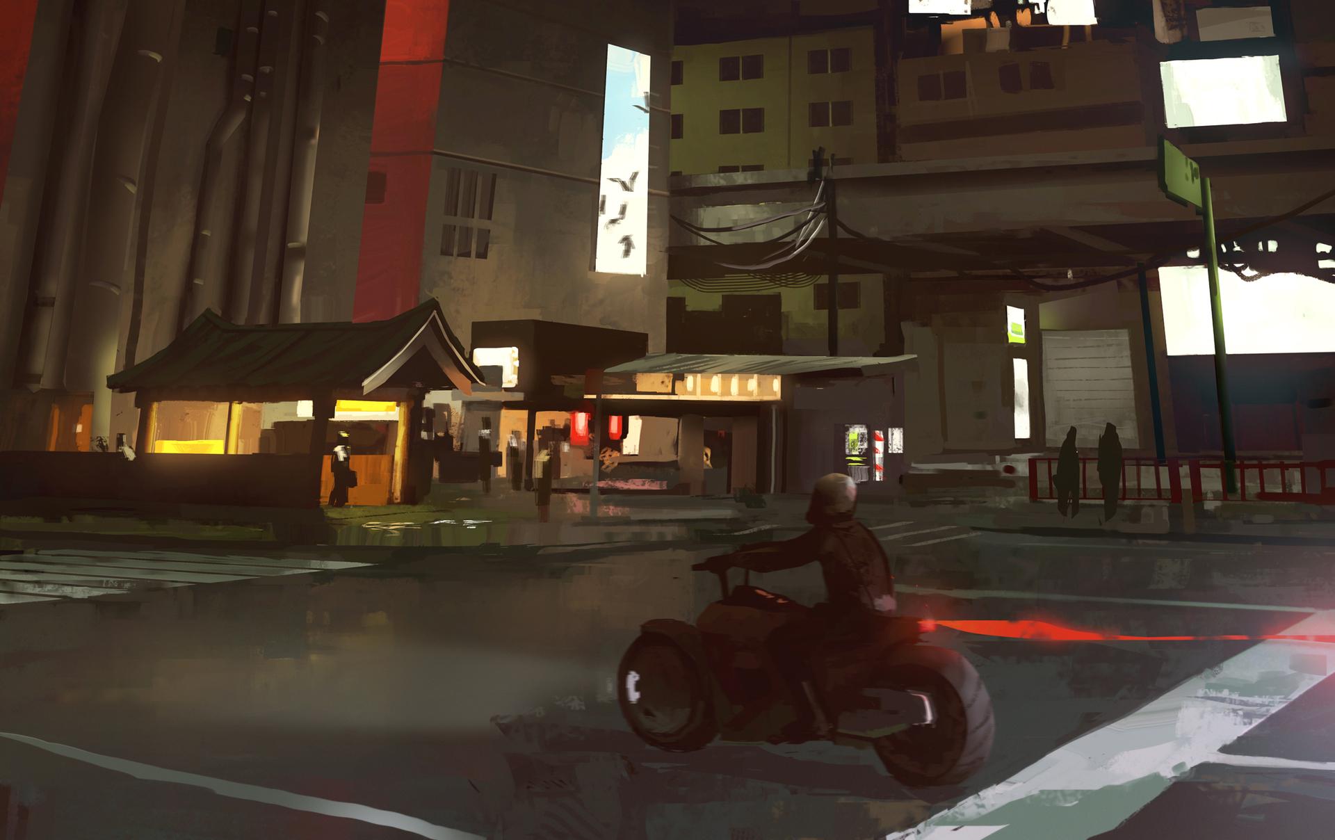 Urban Night Mood