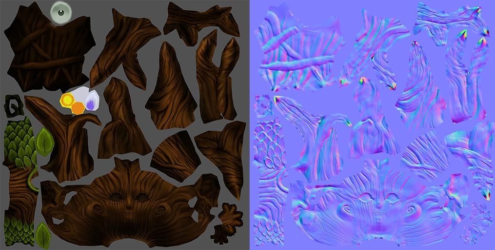 Elizabethedwards dryad texture