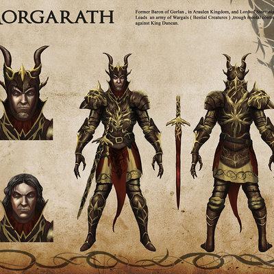 Dark lord morgarath by renmoraes