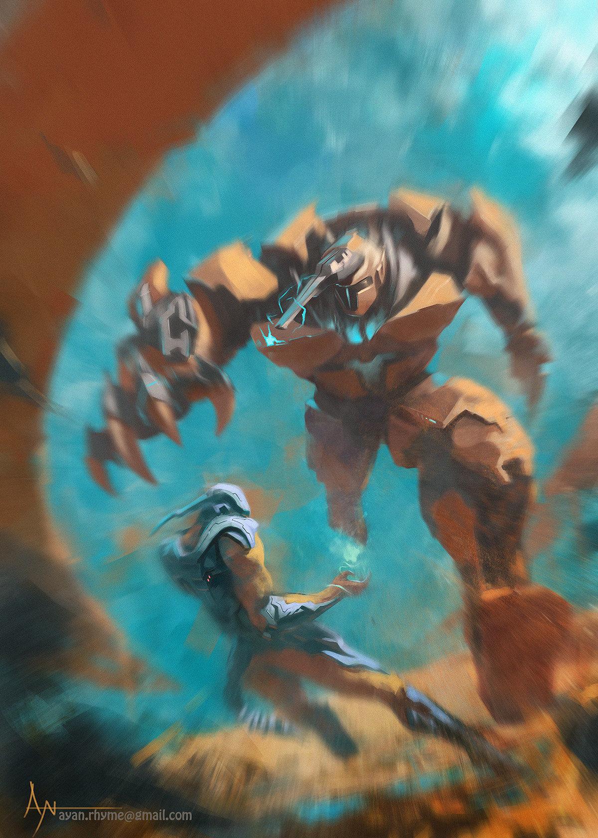 Fight final by ayan portfolio