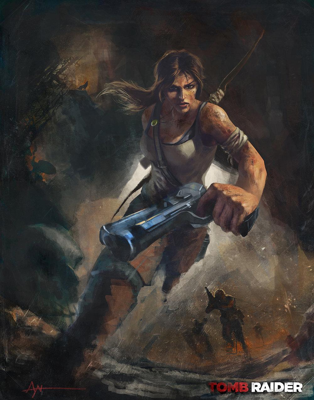 Tomb raider reborn by majinprince lowres
