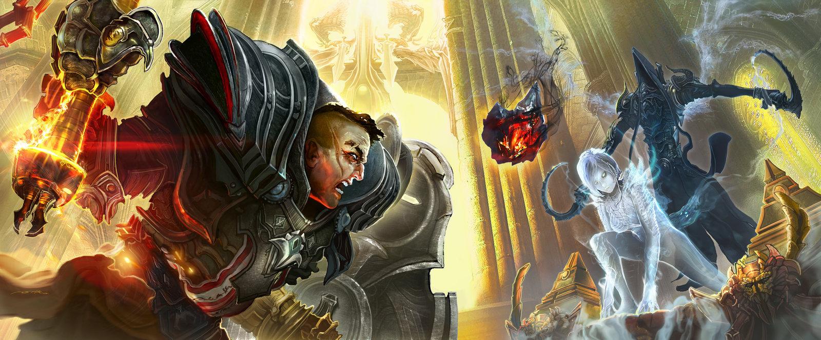 Diablo 3 reaper of souls fan art   death awaits by ertacaltinoz d7a3rqd